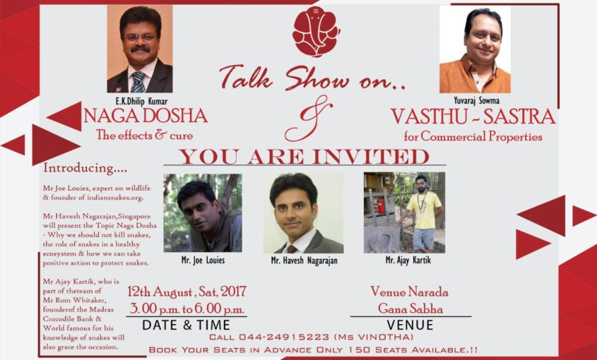 Talk Show on Naga Dosha & Vasthu Sastra